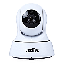 VESKYS Wireless WiFi IP Camera 720P 1.0MP Night Vision Motion Detection P2P-WHITE