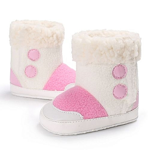 becfd38774c1 YiQu bluerdream-Baby Girl Boys Soft Sole Booties Snow Boots Infant ...