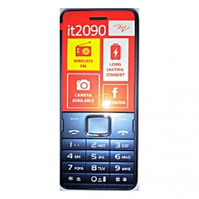 "2090 - 1000 mAH Wireless FM Dual SIM 3MP Camera -1.77"" - Blue"