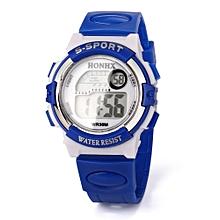 HONHX Africashop Watch  Multifunction Sports Electronic Sport Digital Wrist Watch For Child Girl Boy-Blue