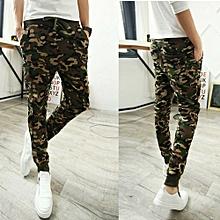 Generic Mens Fashion Camouflage Trousers Men Pants Casual Pants Sweatpants A1