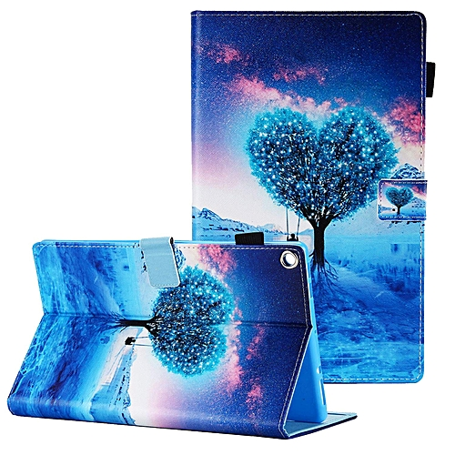 size 40 83c93 8496f Fire HD 10 Case 7th Generation 2017, Slim Fit Corner Protective Folio Multi  Angle Stand Smart Cover with Auto Sleep Wake Shockproof Case Cover for ...