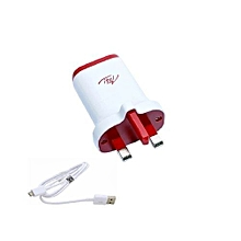 Charger - 3 Pin - White