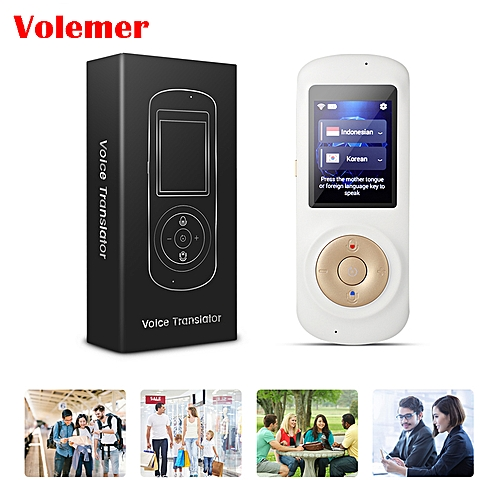 russian language Translator T2S Real Time Instant Voice Translation  Multi-language Support 52 Languages Wifi touch Screen ASQOA