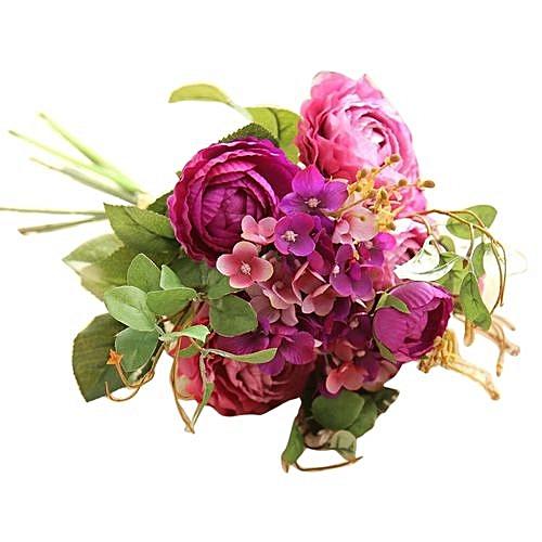 Buy Generic Olivaren Artificial Fake Flowers Land Lotus Floral