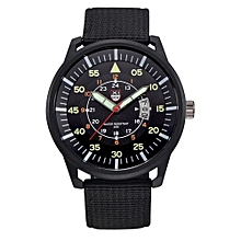 The Best Selection  Military Mens Quartz Army Watch Black Dial Date Luxury Sport Wrist Watch  Phonemol