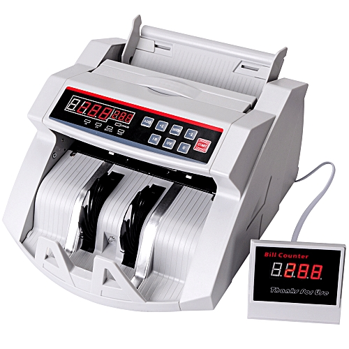 Multi-national currency banknote counter small portable
