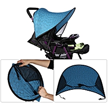Baby Stroller Cover Buggy Infant Car Seat Sun Shade Hood Sun Blocking Canopy Blue