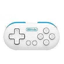 SmartSS 8Bitdo Zero MINI Bluetooth Game Controller Gamepad Remote Shutter (Blue) WWD