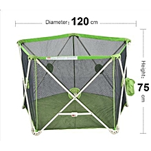 Unique Portable Baby Safety Playpen Playard  - Green
