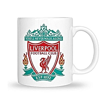 Liverpool Mug White
