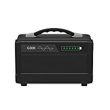300W 220V 80000mAh 296Wh Portable Solar Generator Inverter Emergency UPS Supply Storage AU