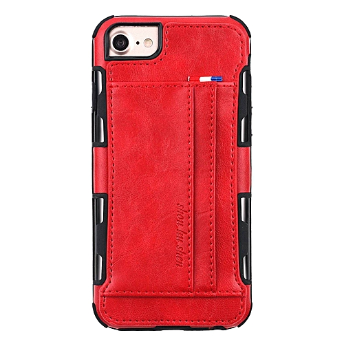 best service 24376 60662 iPhone 6S Plus Case,Slim Back Case Cover with 2 Card Holder Slots PU  Leather Case for Apple iPhone 6 Plus/6S Plus 5.5