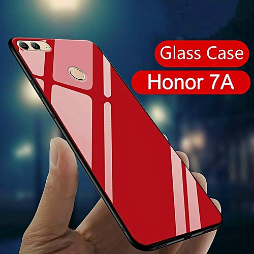 the latest 4d8a0 6a3c2 Glass Case For Honor 7A Cover Full Protection Tempered Glass Back Cover  Casing For Huawei Honor 7A Housing
