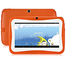 "Q768 - 7"" Kids Tablet PC Android 4.4 512MB/8GB 0.3MP OTG G-Sensor EU - Orange"