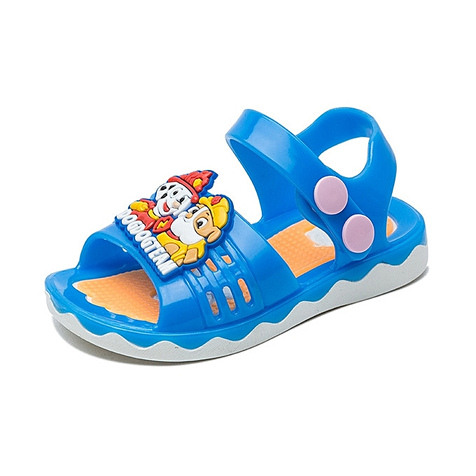 273b3927fbd4 Baby Sandals Girls Sandals Children s Beach Shoes Non-slip Soft Sandals  Child Summer Kids Cartoon