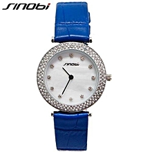 dress ladies quartz watch beautiful high quality leather band dames horloges 2017 new with tags business women watches