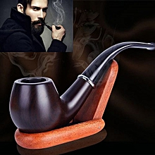 2017 New Retro Enchase Durable Resin Smoking Pipe Tobacco Pipes Cigar Gift
