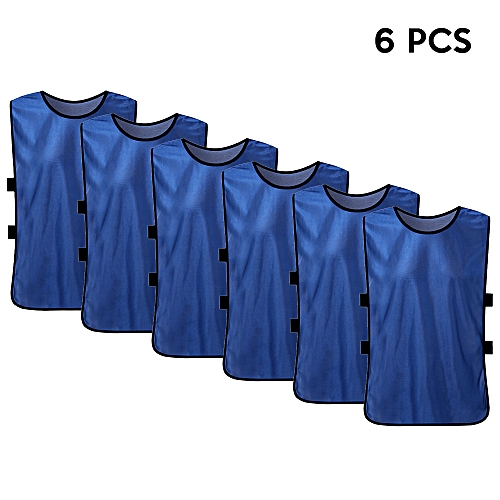 b1011b8d5 Generic 6 PCS Adults Soccer Pinnies Quick Drying Football Jerseys Sports  Scrimmage Practice Sports Vest Team Training Bibs