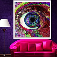 "Psychedelic Eye Trippy Art Silk Cloth Poster Home Wall Decoration 24"" X 24"""