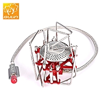 BL100 - B6 Outdoor Camping Picnic Foldable Split Gas Stove Portable BBQ Gear
