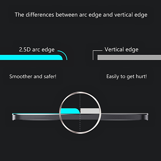 4171faaa413f16 ... ENKAY Hat-Prince 0.26mm 9H 2.5D Privacy Anti-glare Tempered Glass Film  ...
