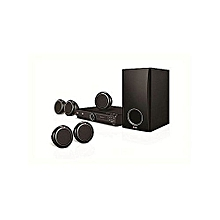 300W DVD HOMETHEATRE SYSTEM 5.1CH, DH3140S - Black