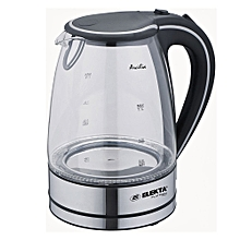 Avilia Glass Kettle with Blue LED