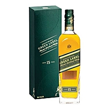 Green Label Blended Scotch whisky - 750ml
