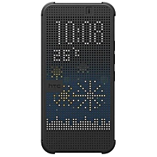 Disire E8 - Dot View Touch Sense Case -black
