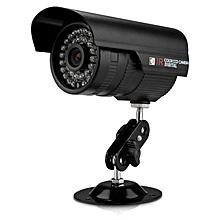 "1/4"" CMOS 700TVL IR CCTV Outdoor Waterproof Security Surveillance Camera Black JY-M"