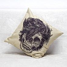 Halloween Skull Pillow Case Sofa Waist Throw Cushion Cover Home Decor