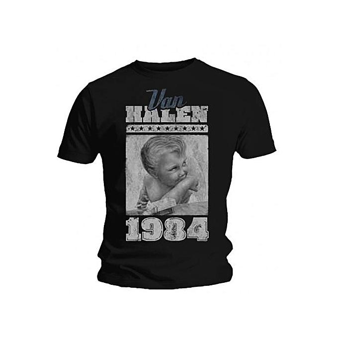 49c03918808f Fashion VAN HALEN 1984 MENS Cotton T Shirt @ Best Price Online ...