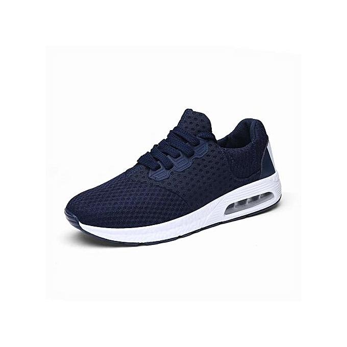 cdb9ca0f0a Fashion Mens Sneaker Air-cushion Sports Shoes Running Shoes-Blue ...