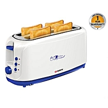 4 Slice Bread Toaster - White