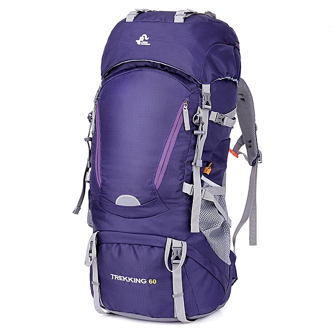 be085c018c 60L Waterproof Internal Frame Hiking Backpack with Rain Cover Outdoor  Camping Trekking Climbing Mountaineering Backpack Sport
