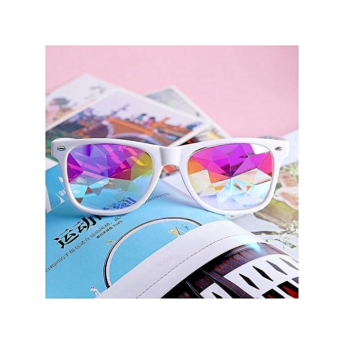 Fohting Men Women Clear Lens Glasses Metal Spectacle Frame Myopia  Eyeglasses Lunette Fe -Black afdbab874038