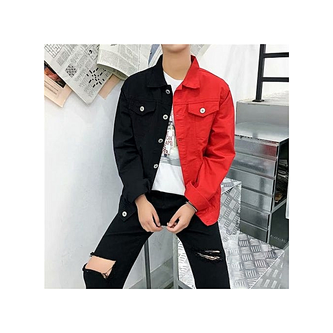d35bc6e9816f Men s Jacket 2018 New Dirty Youth Casual Korean Jeans Trends Holes Tops  Wholesale