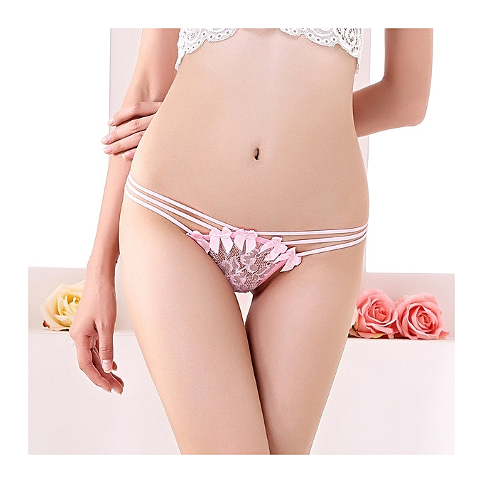 c92a591dc3 Hot sale Sexy underwear ladies transparent thin lace thong temptation lure low  waist stretch underwear T