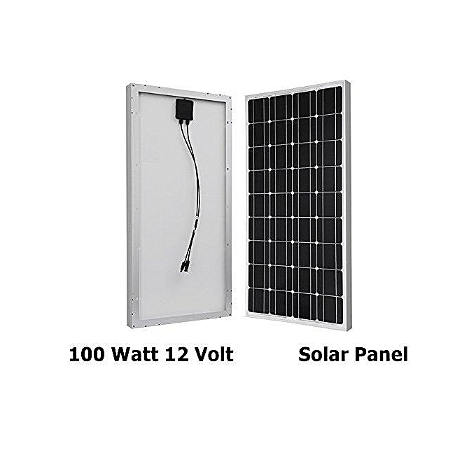 100 Watt Solar Panel Poly