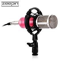 ZEEPIN BM - 800 Audio Sound Recording Condenser Microphone with Shock Mount - PINK