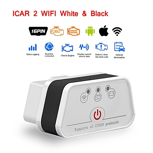 Vgate icar2 Wifi OBD2 Diagnostic-tool ELM327 wifi OBD 2 Scanner Mini ELM327  android/PC/ Code Reader