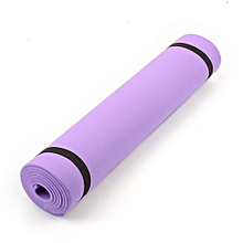 6mm Thick Yoga Mat Pad Non-Slip Lose Weight Body Building Exercise Gym Fitness Home Indoor Free Shipping