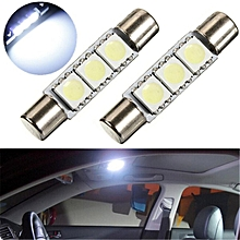 1PCS 31mm 3LED SMD 5050 New Toyota Car Interior Dome Roof Lamp Ceiling Light Bulb