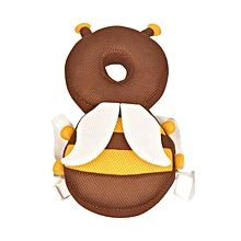 Add a belt to the belt Protective headrest children's baby head protection pads for baby steps and protective caps # Honeybee