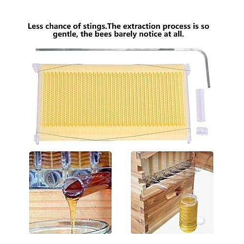 Buy Generic 7pcs Auto Flow Comb Honey Beehive Frames Plastic