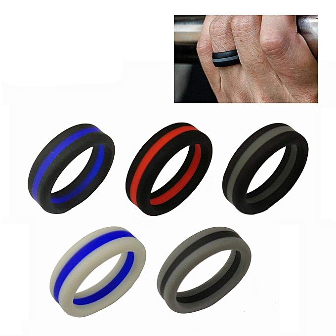 Silicon Wedding Bands.Silicone Wedding Ring Silicone Wedding Band For Men Tire Style Silicone Ring 5 Pack 8mm Wide Size 9