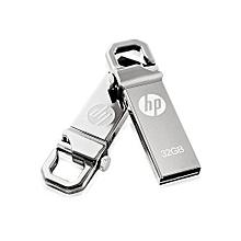 Metallic 32GB flash drive- Silver