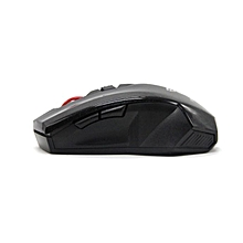 2.4Ghz Mini portable Wireless Optical Gaming Mouse For PC Laptop -Black