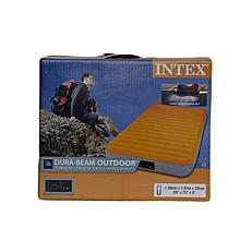 Twin Super-Tough Airbed W/Fiber: 64791: Intex
